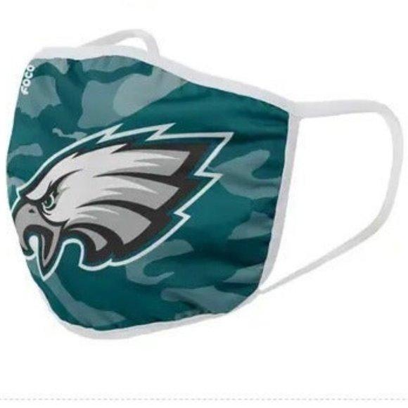 NFL Philadelphia Eagles Face Mask 2pk